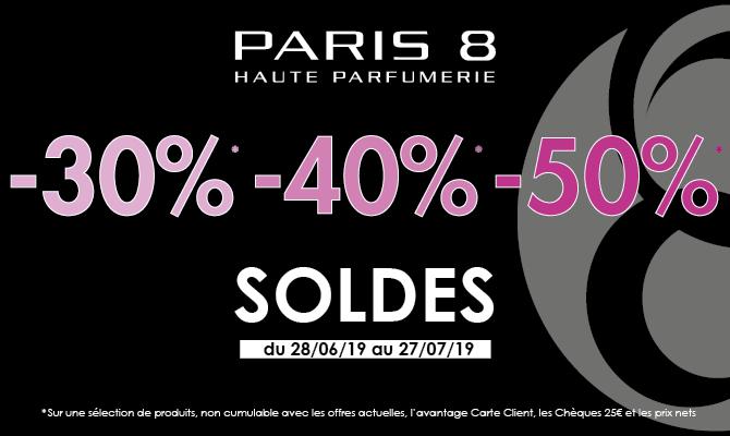 Paris 8 lance ses meilleures soldes