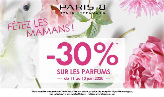 Gâtez vos mamans avec Paris 8 !