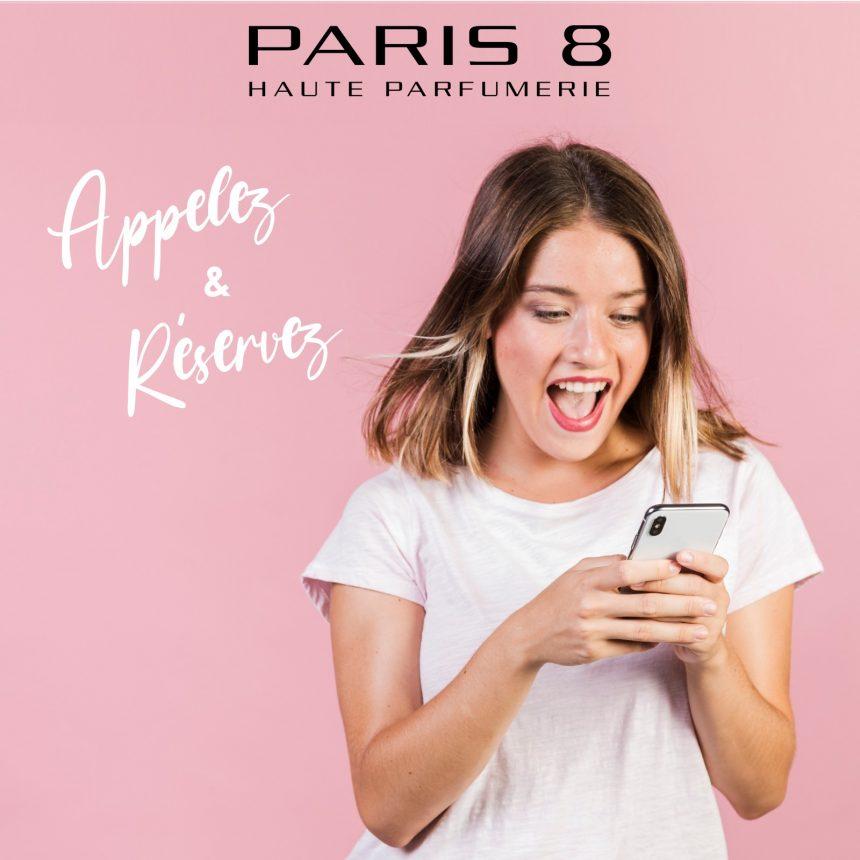 Réservez vos produits chez Paris 8