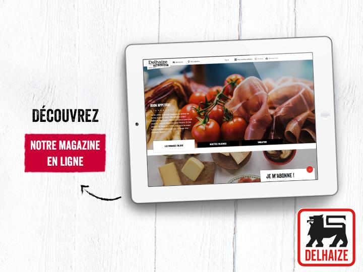 L'Ezine Delhaize : votre magazine inspirant !