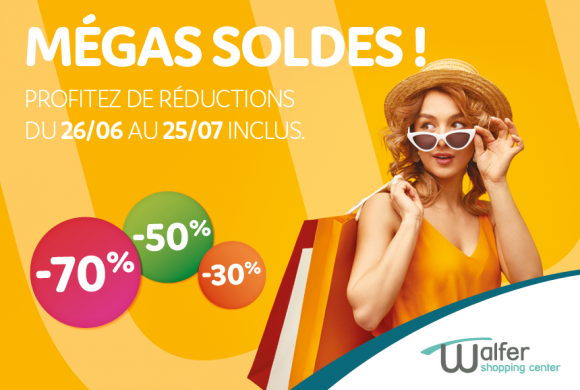 MEGA soldes au Walfer Shopping Center