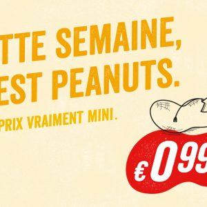 C'est Peanuts chez Delhaize !