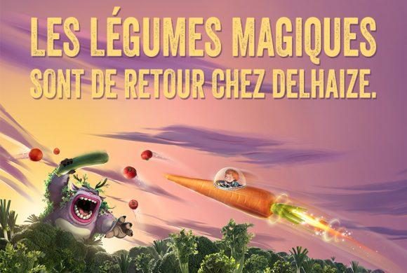 Vivez l'aventure des légumes magiques chez Delhaize !